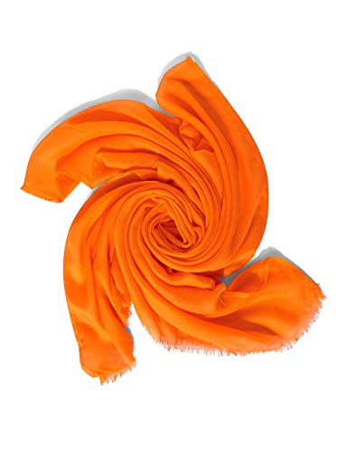 Street One Damen Mode-Schal, Shiny Tangerine, A