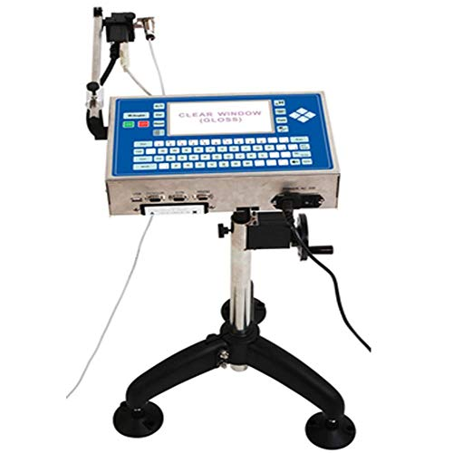 YJINGRUI Imprimantes à Jet d'encre Automatiques de Code de Date de Machine d'impression de Jet d'encre d'imprimante à Jet d'encre Automatique