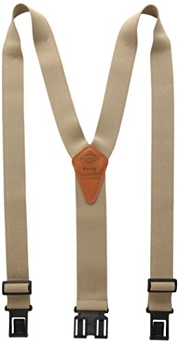 Dickies Men's Perry Suspender, Beige, One Size
