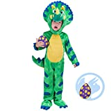 Spooktacular Creations Costume da Dinosauro per Bambini Triceratops Kids Dinosauro Vestito...
