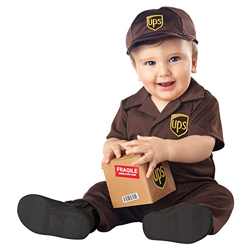 Infant UPS Baby Delivery Costume size 6-12 Months