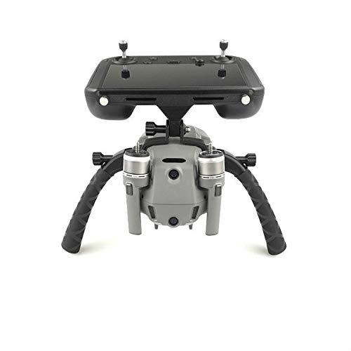CHENJUAN Afstandsbediening met scherm beugel drone handheld Stabilizer Landing fotografie houder for DJI Mavic 2 pro Zoom Drone reserveonderdelen (Color : Black)