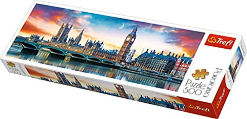 Puzzle'500 Panorama' - Big Ben e Palace of Westminster, Londra