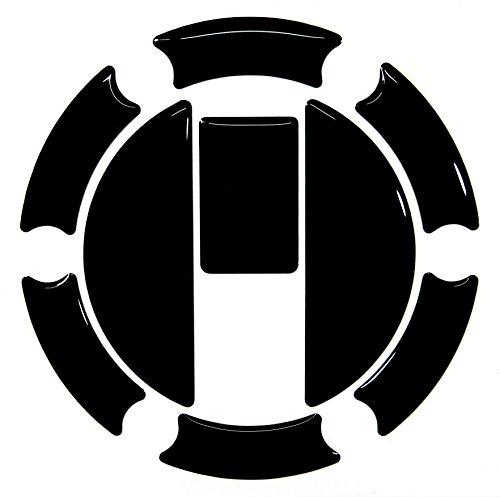 Protège-réservoir 3D 650005 noir - Pour réservoir Triumph