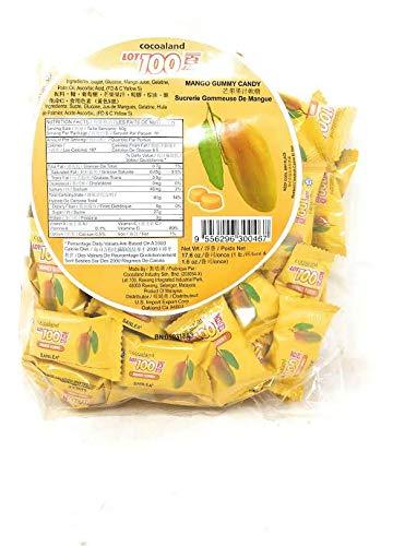 Cocoaland Mango Gummy Candy, 17.6oz (1lb)