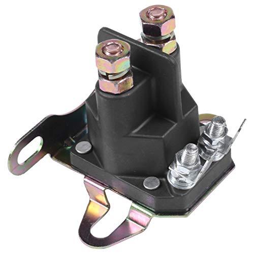 CUHAWUDBA Arrancador de 4 Polos para Lancha de Motor Relé ElectromagnéTico CortacéSped de Arranque para Briggs Stratton Motorboat CortacéSped Piezas de Motor