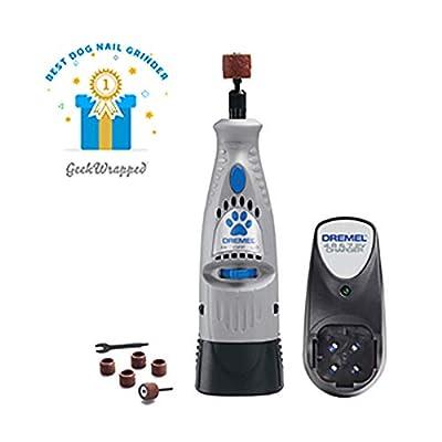 Dremel 7300-PT 4.8V Cordless Pet Dog Nail Grooming & Grinding Tool, Safely & Humanely Trim Pet & Dog Nails