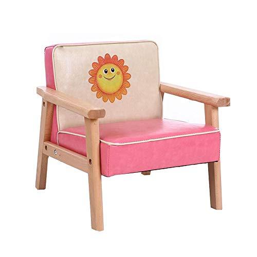 YumEIGE kruk van hout, hout + hoge elastische spons, zon, opstapkruk voor kleuterschool/kinderhoeken/onderwijsinstelling, trapschuim voor kinderbelasting 150 kg