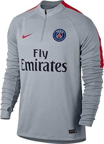 NIKE PSG M Nk Sqd Dril - Camiseta de Manga Larga París Saint-Germain FC Hombre