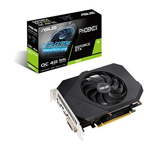 Tarjeta Grafica ASUS PH-GTX1650-OC-P 4GB GDDR6 PCIE3.0 1*HDMI/1*DP/1*DVI-D