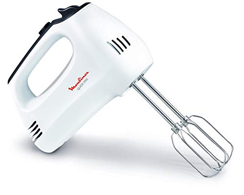 Moulinex HM3101 Quick Mix Hand Mixer - 300W - 5 Speeds + Turbo Function: Amazon.es