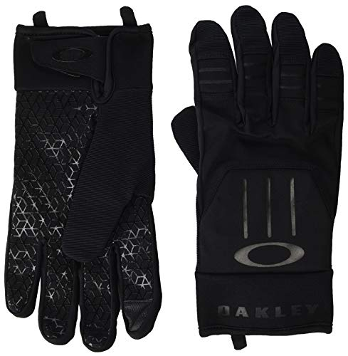 Oakley Herren Gloves Ellipse Foundation Handschuhe, Blackout, Groß
