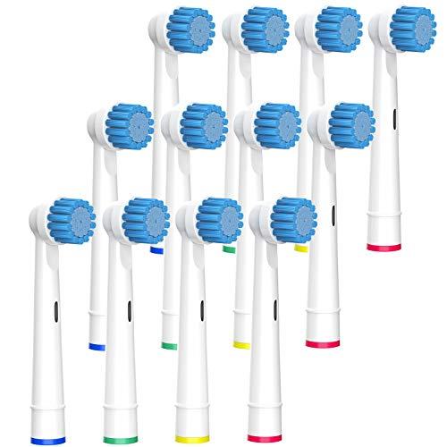 BELADENT Sensitive Aufsteckbürsten für Oral-B, EB17-S 12 Stück weich, soft für eine besonders sanfte Reinigung