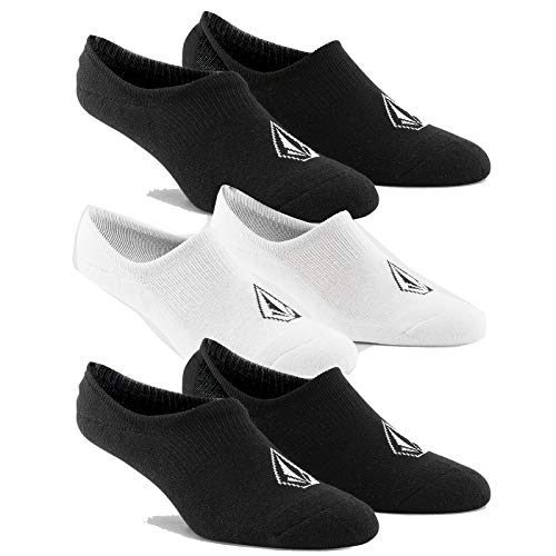 Volcom Stones Herren Socken Nshw Sock 3pk Einheitsgröße Schwarz, Weiß