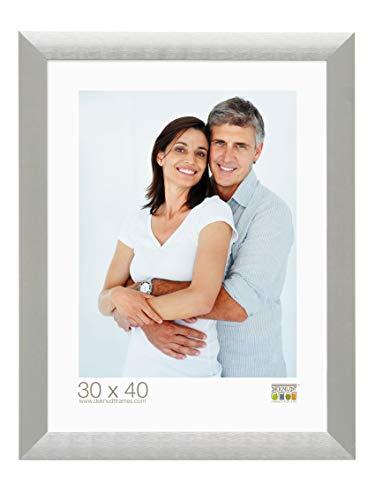 Deknudt Frames S023D1 10.0X15.0 fotolijst, aluminium, 3 cm, zilverkleurig