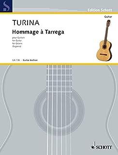 Hommage a Tarrega, Op. 69: Guitar Solo