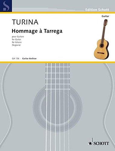 Hommage à Tárrega: op. 69. Gitarre. (Edition Schott)