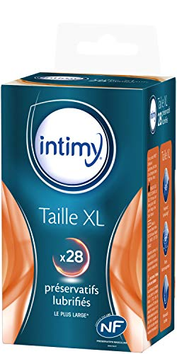 Preservativos Intimy XL tamaño 28
