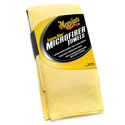 X2020 Supreme Shine Microfiber Towels by Meguiar's