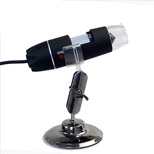 CHSSC USB-Digitalmikroskop, 500-faches Wissenschaftliches Mikroskop, Digitalzoom, Professionelle Basis Zum Senden Von Schnitten - Bio-Aufkl ngswissenschaft (Farbe   Schwarz