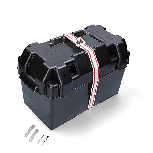 Boote & Yachten Kantschuster Batteriekasten 352 x 182 x 197 mm schwarz