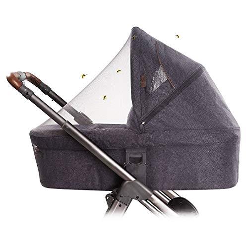 O³ Moskitonetz Cosy Universal | Moskitonetz für Kinderwagen | Insektenschutz für Autositz | elastisches Mückennetz