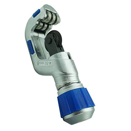 Tagliatubi del tubo del cuscinetto 1 8  -1-1 4  Rullo Heavy Duty Rame PVC Alluminio Acciaio Inox Tubo Utensili da taglio (4-32mm) (Cutter)