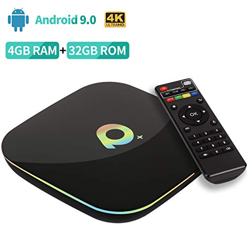 Android 9.0 TV Box【4G+32G】 Android TV Box H6 Quadcore Cortex-A53 Smart TV Box 3D / 6K Full HD/H.265 / USB3.0 Android Smart TV Box Streaming Media Player