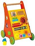 Aurich Babywalker / Lauflernwagen mit Motorikspielen / Material: Holz / Maße: 35 cm breit - 47 cm...