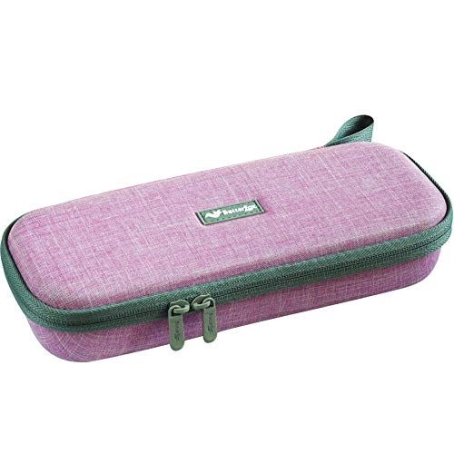 ButterFox Semi Hard Stethoscope Case for Classic III, Cardiology IV Diagnostic, Lightweight II S.E, and More Stethoscopes with Pocket for Nurse Accessories (Lavender Pink)
