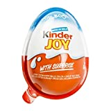 (6 Eggs) Surprise Chocolate JOY for BOY by Kinder