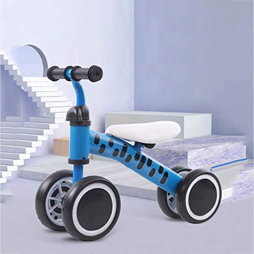 DDXY-Balance Bike Baby Walker Bicicleta Sin Pedales,Juguetes para Niños Juguete para Montar para Niños de 1 Año, Niñas de 10 A 36 Meses, Primer Regalo de Cumpleaños,Azul