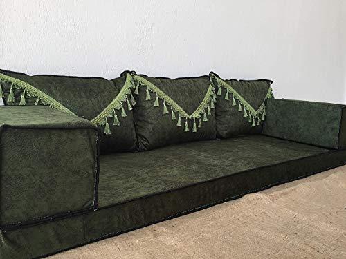 arabic floor seating,arabic sofa,arabic couch,floor seating sofa,oriental seating,bar decor,arabic furniture - MA 73