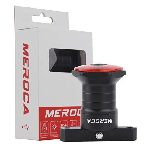 Akin - Luz trasera LED para bicicleta con sensor de freno inteligente IPX6, resistente al agua, USB recargable hasta 32 horas para bicicleta de montaña