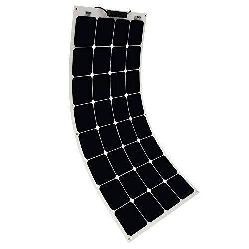 Solar Panel 100W 12V Bendable Flexible Solar...
