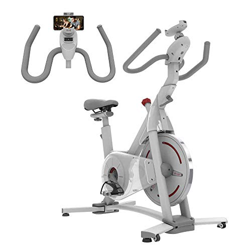 ATIVAFIT Indoor Cycling Bike MagneticResistance System Stationary Exercise Bike with Tablet Holder and LCD Monitor for Home Workout Ativafit Bikes Exercise indoor magnetic quiet