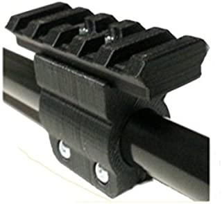 Venom Blowguns 1.5mm Wall .625 Cal Tactical Mounting Rail System Compatible with Cold Steel Magnum 1.5mm Wall Blowguns