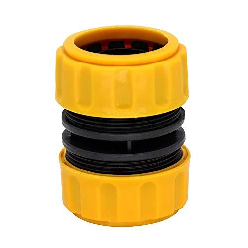 zeng Conector de Manguera de 1 Pulgada, Adaptador de Manguera de Grifo de jardín, Conector rápido de Manguera, se Puede Extender y Reparar una Manguera de 1 Pulgada