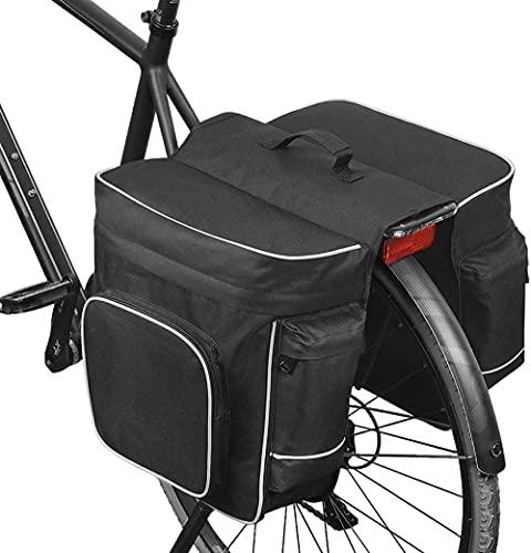 Bolsas de Bicicletas 30L MTB Bicicleta de montaña Bolsa 2 en 1 Multifunción Doble Cara Lado Bicicleta Bicicleta Bolsa de Tronco de Asiento Trasero