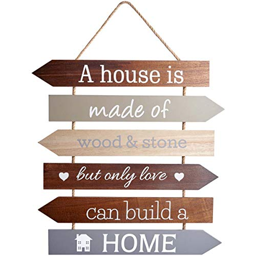 Transomnia A House Is Made of Wood & Stone Only Love Can Build A Home Chic N Shabby Targa