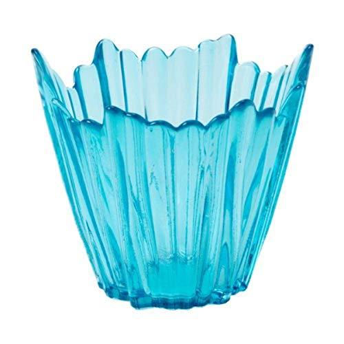 Shiraleah Alma Votive Candle Holder, Turquoise