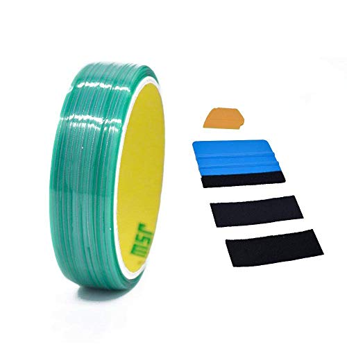 Mock ST Knifeless ナイフレステープデザインラインフィニッシュラインビニールワープカッティングテープ (50M アクセサリー付き)