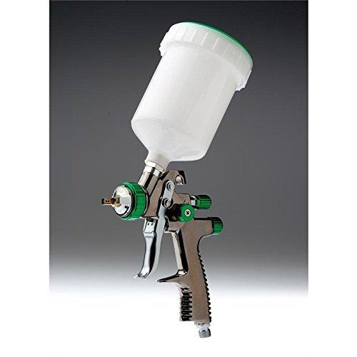SH LVLP Lackierpistole Grün 1.3 mm Düse 600 ml Fliesbecher *QLSST133