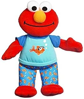 Playskool Cuddly plush Lullaby and Good Night Elmo Musical Talking Toy, Red