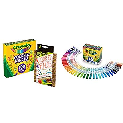 Crayola Colored Pencils, Assorted Colors by Binney & Smith