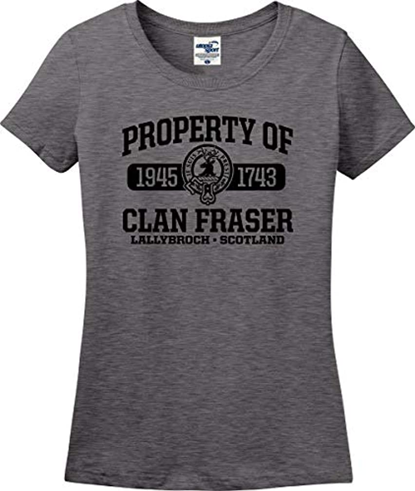 Utopia Sport Property of Clan Fraser Funny Ladies T-Shirt (S-3X)