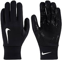 NIKE Hyperwarm Fieldplayer Gloves Guantes, Unisex Adulto, Negro/Blanco, L