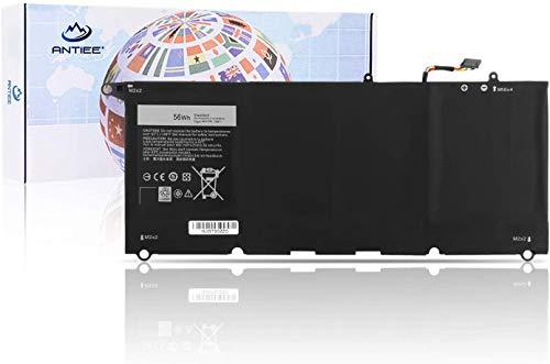ANTIEE 56Wh 90V7W Laptop Battery Batería para Dell XPS13 XPS 13 9343 9350 XPS13-9350-D1608 XPS13-9350 13D-9343-3708 Ultrabook P54G P54G001 P54G002 5K9CP DIN02 9OV7W 4-Cell 7.6V 7435mAh