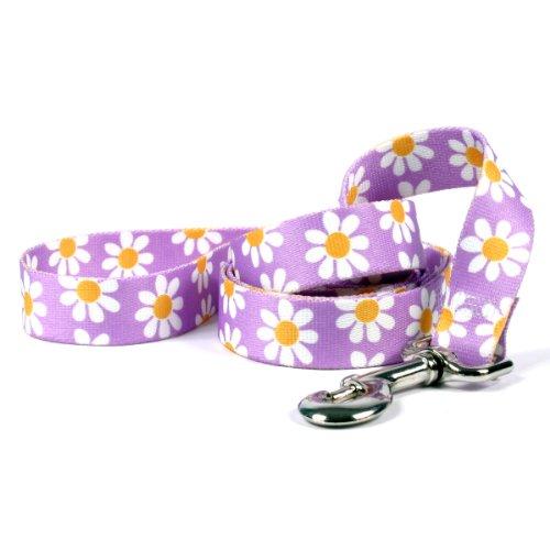 Yellow Dog Design Standard Lead, Lavender Daisy, 3/4' x 60' (5 ft.)