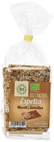 Sol Natural Crackers Espelta con Muesli y Semillas Bio -2000gr